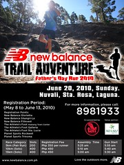 New Balance Trail Adventure Father's Day Run 2010