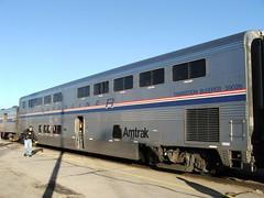 transition sleeper La Junta Co 2005 (Sten Parker) Tags: colorado trains amtrak rollingstock superliner passengercars
