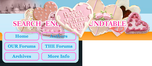 Search Engine Roundtable's Mother's Day Logo