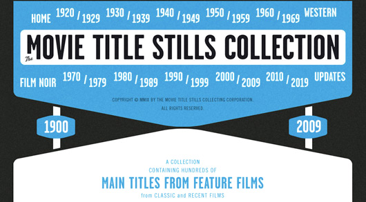 Movie Title Stills Collection