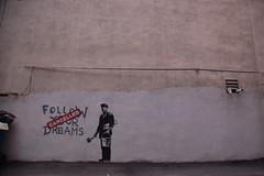 streetart man art boston painting ma graffiti chinatown... (Photo: Chris Devers on Flickr)