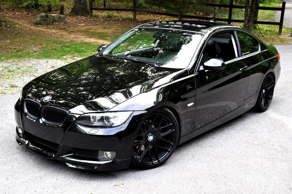 Black E92 With Black Rims Pics Anyone