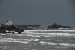 Putting to Sea (Catching Magic) Tags: ocean sea newzealand nikon ship pacific tiraudan tauranga mountmaunganui