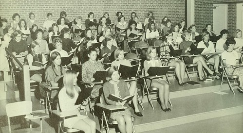 the 70s classroom