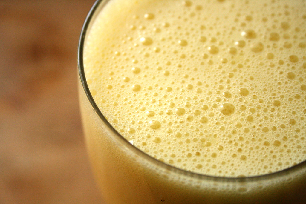 Food Network's Almost-Famous Orange Milkshake