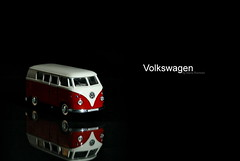 Volkswagen on black (butacska) Tags: lighting travel red portrait white black macro reflection car vw volkswagen studio toy lights photo model flickr driving nightshot background sony flash mini photograph learning whites nightlife minivan makro szn 1870mm towing a100 microbus vanagon piros utazs fotzs fekete makr portr tkrzds sonyalpha kzelkp kozelkep