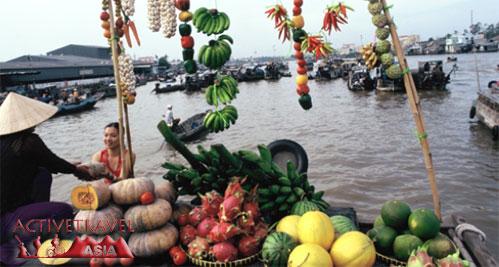 Mekong Delta, Vietnam - Float Market