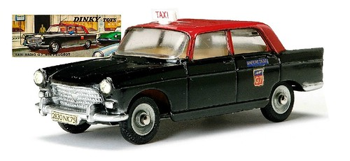 Dinky F 404 Taxi