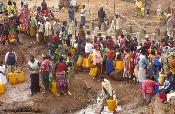 Manque d'eau potable, un casse tête pour les habitants