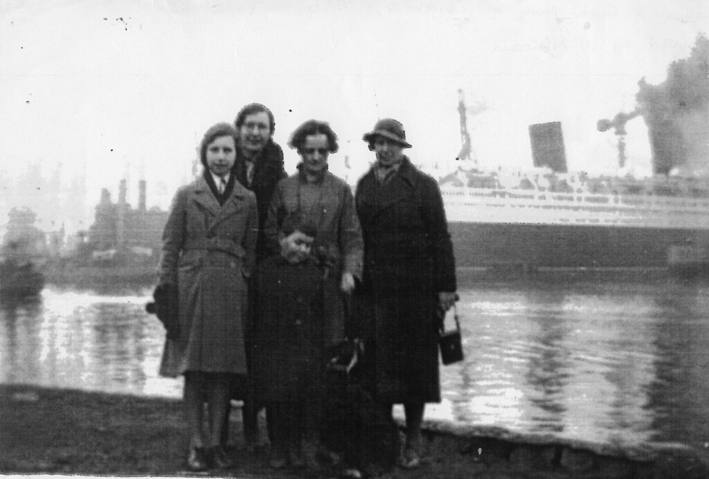 Launch of Queen Mary, Clydebank 1936