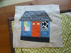 Scraptastic Bee May (seemommysew) Tags: scraps quiltblock wonkyhouse quiltbee