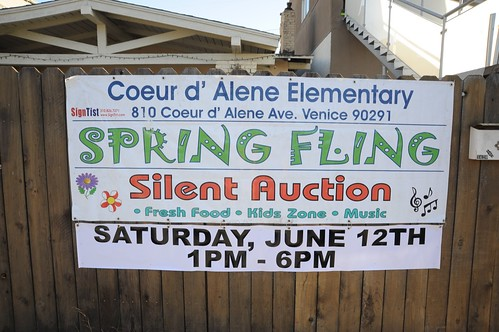 Coeur d'Alene Elementary Silent Auction