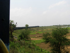 Khana Jn Curve (Parthowap1) Tags: train ir er locomotive railways khana wdm3a wdm3 shantiniketanexpress