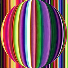 In a Beisel des is klaas (Marco Braun) Tags: square colorful stripes sphere colored colourful coloured farbig bunt bandes boule kugel carr streifen quadrat  multichrome couleures