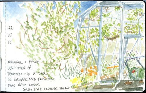 greenhouse corner