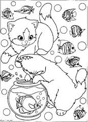 Gato / Cat ( Reino J Cheguei ) Tags: cat pattern kitty gatos riscos moldes