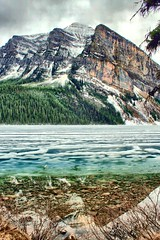 Lake Louise (photos by Bob V) Tags: lake mountains reflections banff lakelouise banffnationalpark banffpark
