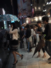 Shinjuku Arta (ashmoca) Tags: wet japan pen tokyo shinjuku olympus rainy ep2 arta