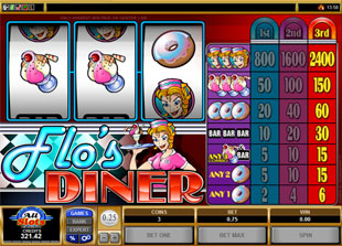 Flo's Diner slot game online review