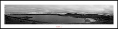 Panoramica Bahia (BN) (Carlos F1) Tags: sea blackandwhite bw costa white black byn blancoynegro blanco water coast scotland mar highlands agua nikon view unitedkingdom united negro scottish kingdom escocia panoramic bn panoramica vista reino unido reinounido d300 talmine escoces scotlanda