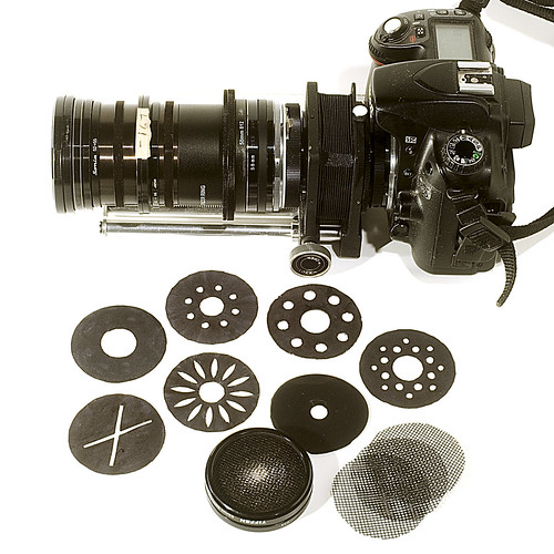 soft focus lens and aperture disks