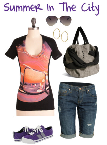 Polyvore: Summer In The City