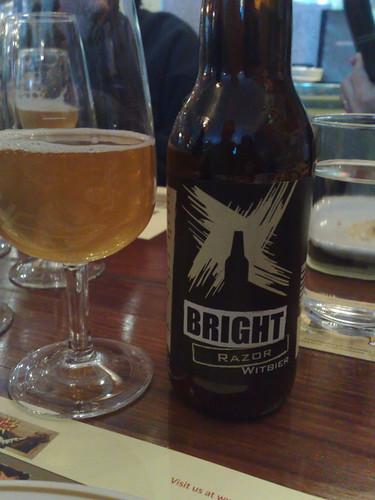 Bright Razor witbier