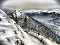 Banff in winter HDR