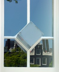 Window reflections (Iro {Ivy style33}) Tags: window amsterdam architecture thenetherlands shorttrip canalhouses windowreflections diamondshape longweekned