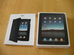 ipad and case