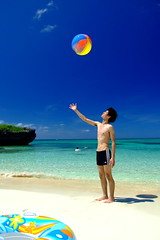Summer Energy (( _`) Sho) Tags: summer beach japan island paradise  okinawa   miyako