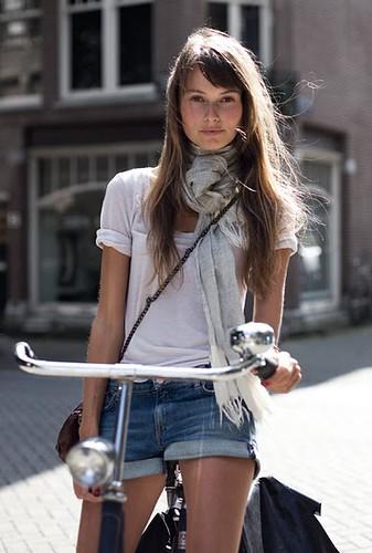 Bike girl by Garance Doré