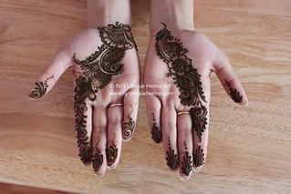 Bridal party 2010 © NJ's Unique Henna Art