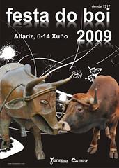 Allariz - 2009 - Festa do Boi - cartel