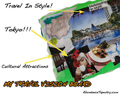 Vision Board Example: Travel