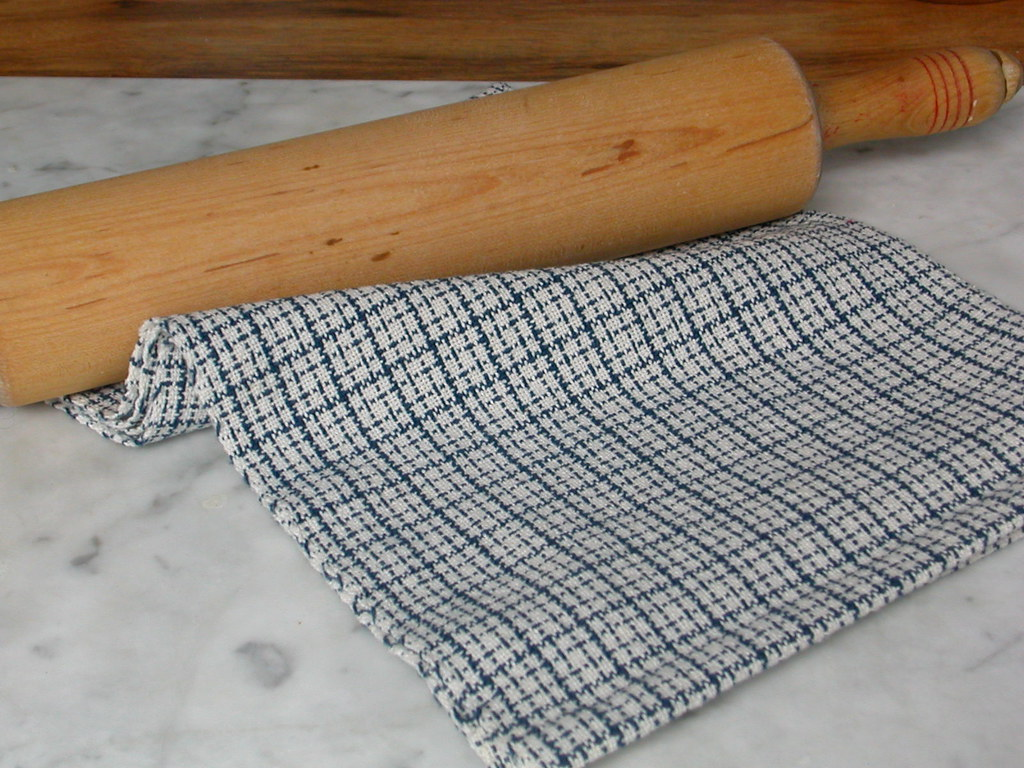 Blue & White Chef's Towel