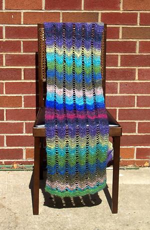 survival shawl - simple