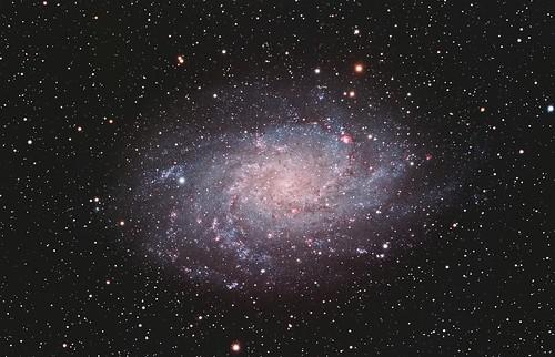 M33 Triangulum Galaxy 18.25 Hours