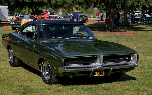 1969 Dodge Charger RT - green - fvr by Rex Gray, on Flickr