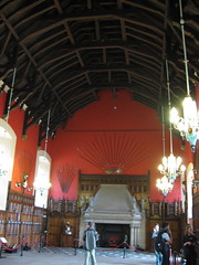 Great Hall with hammerbeam roof