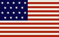 Louisiana's Statehood Flag, 1812-1817