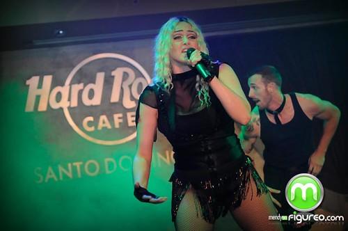 Madonna en Hard Rock Cafe
