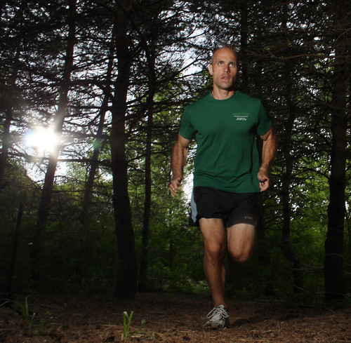 Running in the woods: Cam