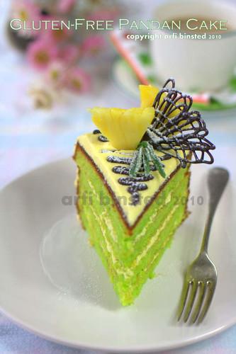 Gluten-Free Pandan Cake by ab2010