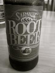 SARANAC ROOT BEER!