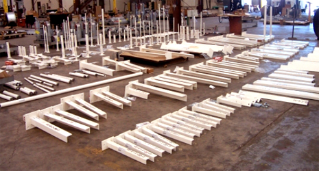 1,000 Standard Pipe Supports for Corrosive Environment