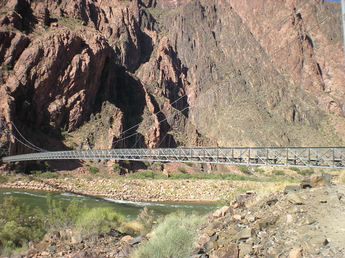 Colorado River Suspension Bridge