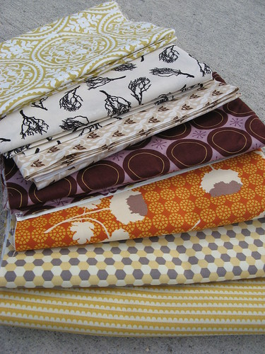 Yummy Yummy new fabrics that came in the mail