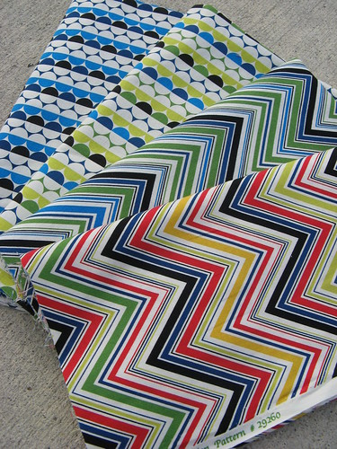 More new fabrics from the postman