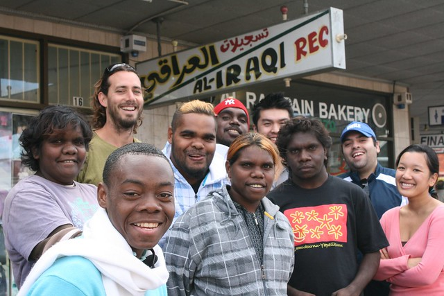 The Urban and Desert crews meet in Fairfield, Western Sydney